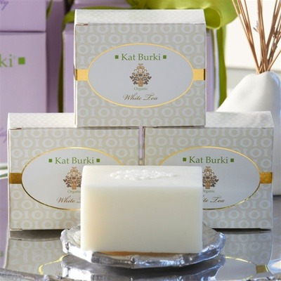 Kat Burki white tea cream and soap