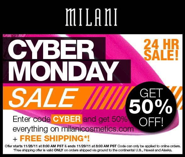 milani cyber monday sale
