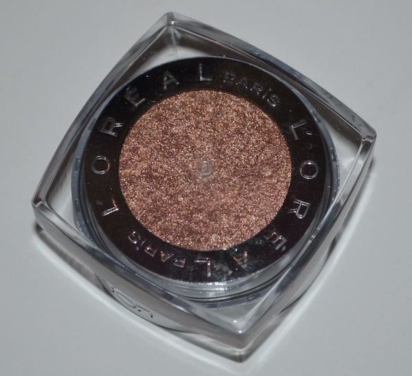 L'Oreal Infallible Eyeshadow Amber Rush Review, Swatches