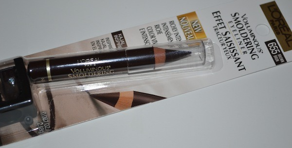 L'Oreal Voluminous Smoldering Eyeliner in Brown