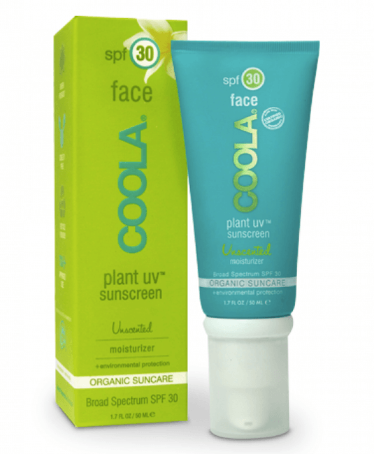 Coola Plant UV Face SPF 30 Unscented Moisturizer