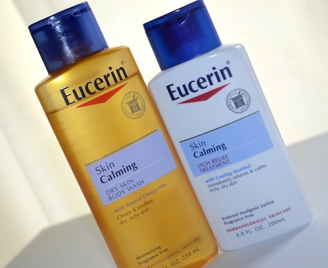 Eucerin Review: Skin Calming Body Wash & Itch Relief Treatment