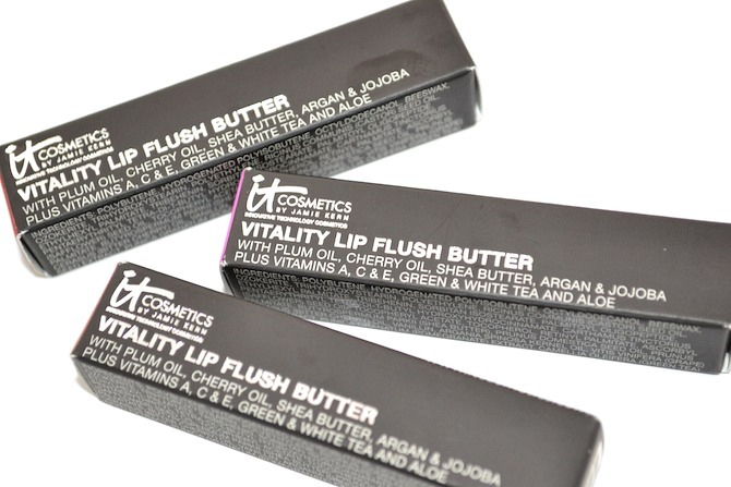 IT Cosmetics Vitality Lip Flush Butters 2