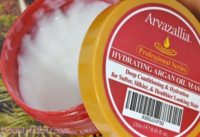 Arvazallia argan oil hydrating mask
