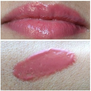 It cosmetics CC+ Lip Serum Hydrating Anti-Aging Color Correcting Crème Gloss in Love swatches