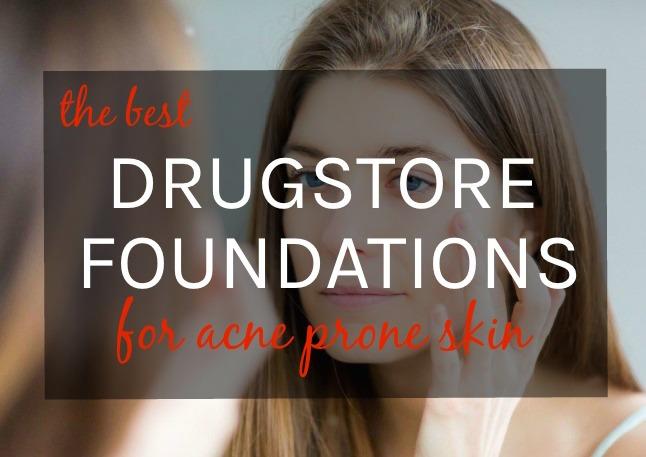 Best drugstore foundation for oily, acne-prone skin