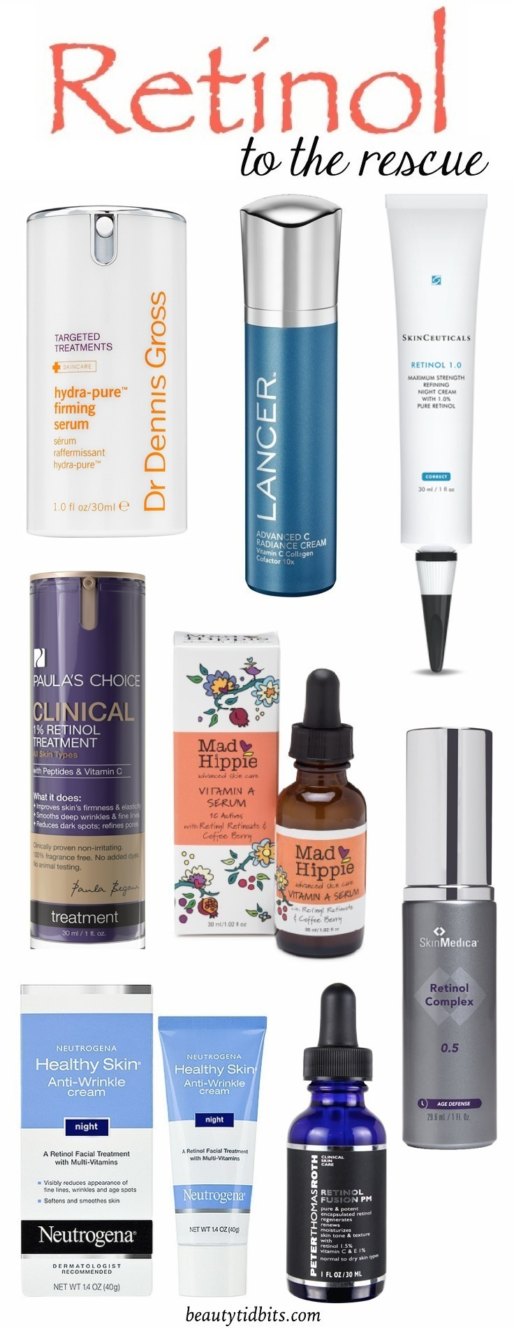 Best retinol night creams for Acne, Wrinkles and Dark