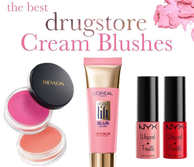 best drugstore cream blush