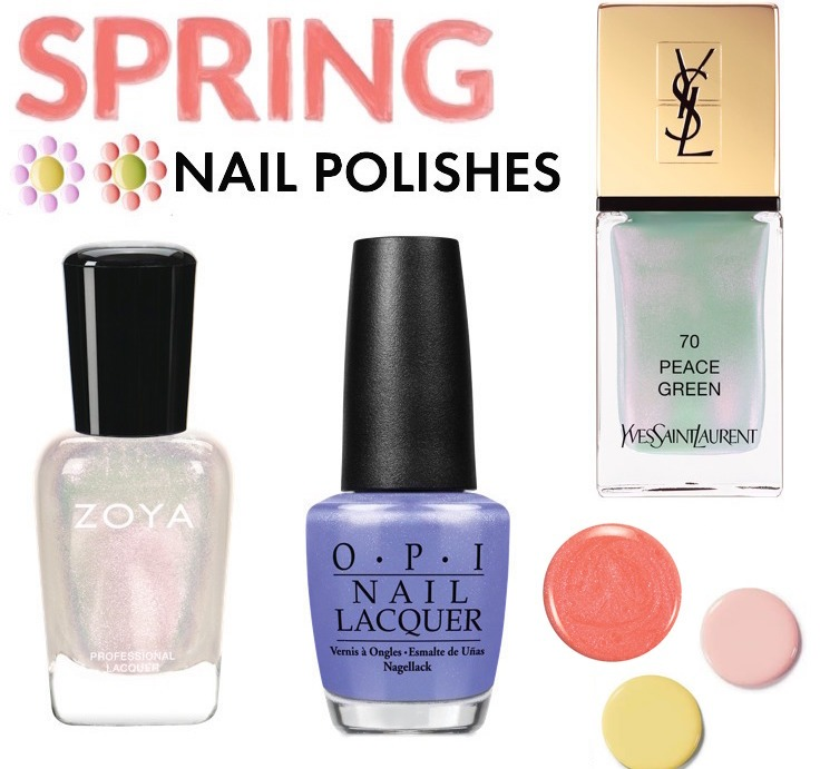 Beat The Winter Blues With These Hot Spring Nail Colors!