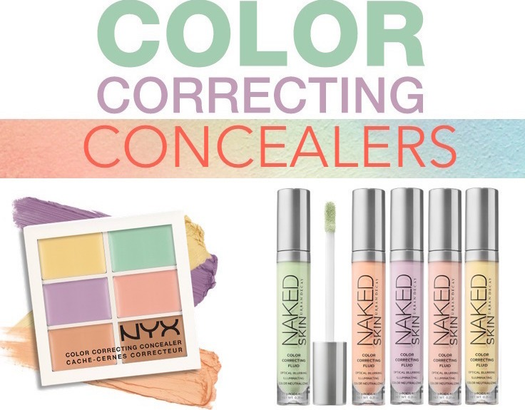 How To Use Color Correcting Concealers (And What Products Work Best!)