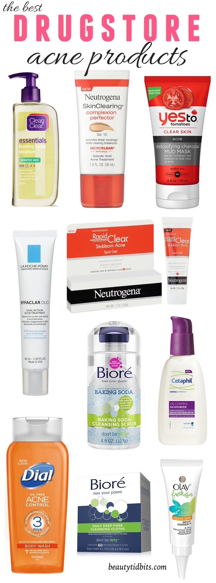 10 Best Drugstore Acne Fighting Products All Under 15