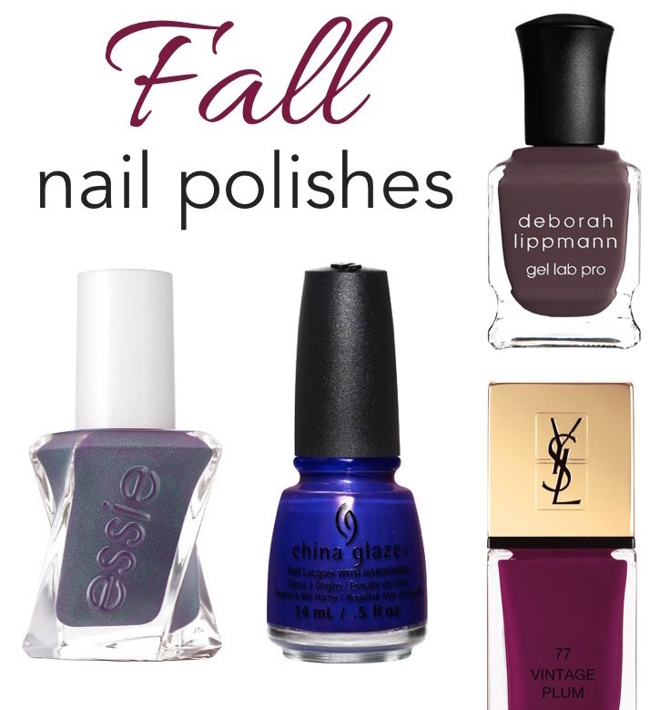Best Nail Polish Colors 2016: 10 Must-Have Nail Colors You Need This Fall!