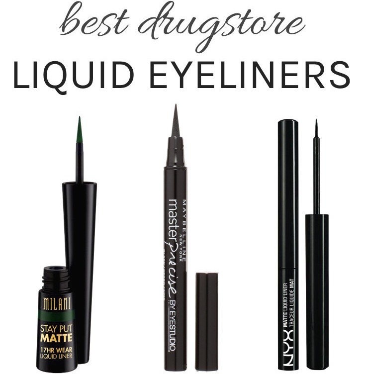 Best Drugstore Liquid Eyeliners