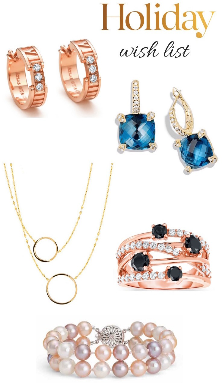 Holiday jewelry gift ideas
