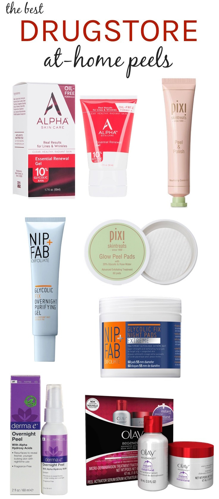 Best drugstore at-home peels for every skin type | From acne and blackheads to dark spots and dullness, these easy exfoliating treatments can tackle almost any skin concern!
