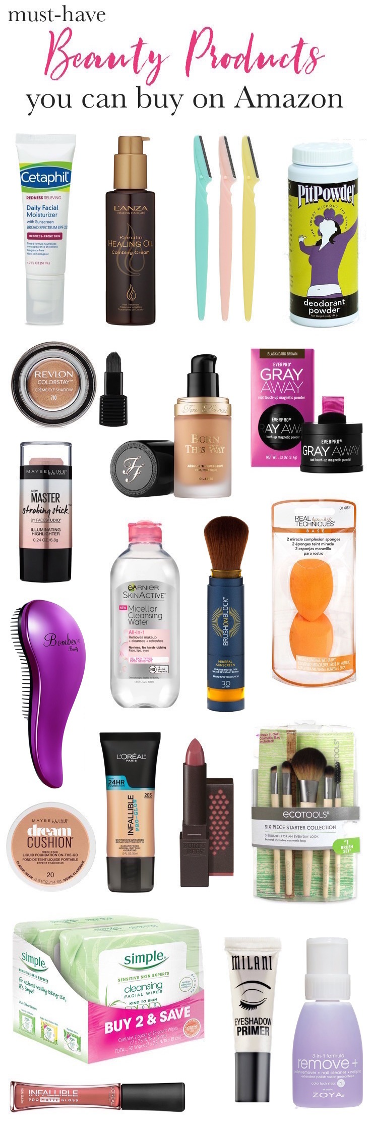 Fabulous Beauty Finds on Amazon Prime! Everything from under-the-radar beauty gems to makeup must-haves and little-known indie brands, you need to check out these affordable beauty buys on Amazon!