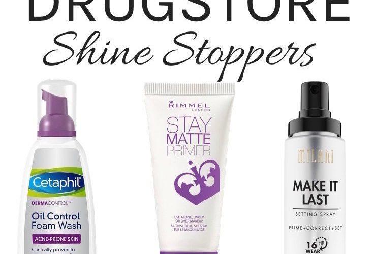 Best drugstore oil control products - foundation, primer, setting spray, face wash, moisturizer, mattifier