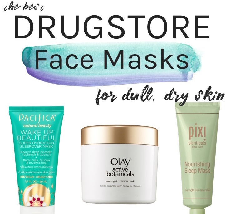 Best drugstore face masks for dry skin