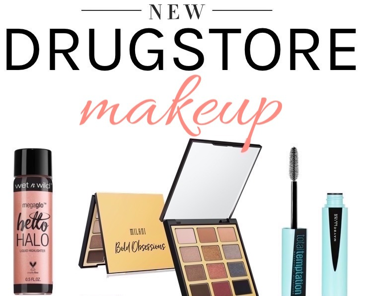 new drugstore makeup 2018