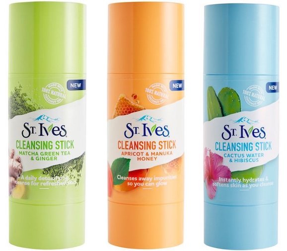 New drugstore skincare products 2018 | St Ives cleansing sticks