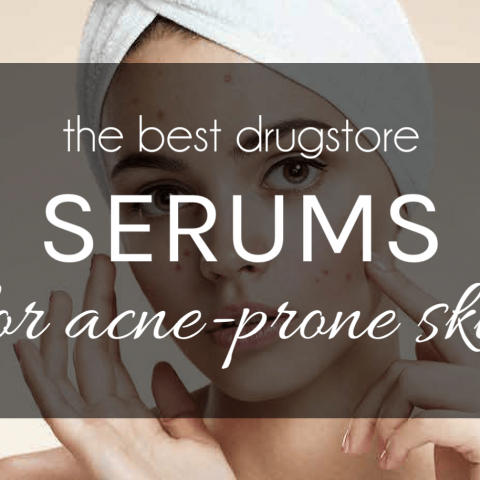best drugstore serum for acne prone skin