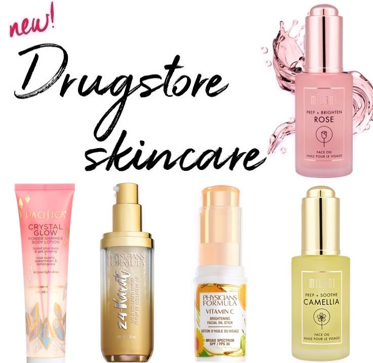 new drugstore beauty products 2018