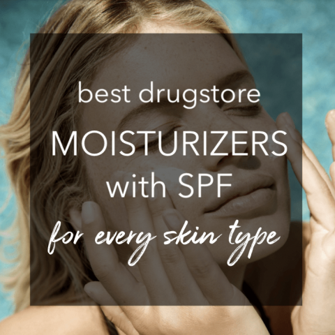 best drugstore moisturizer with spf
