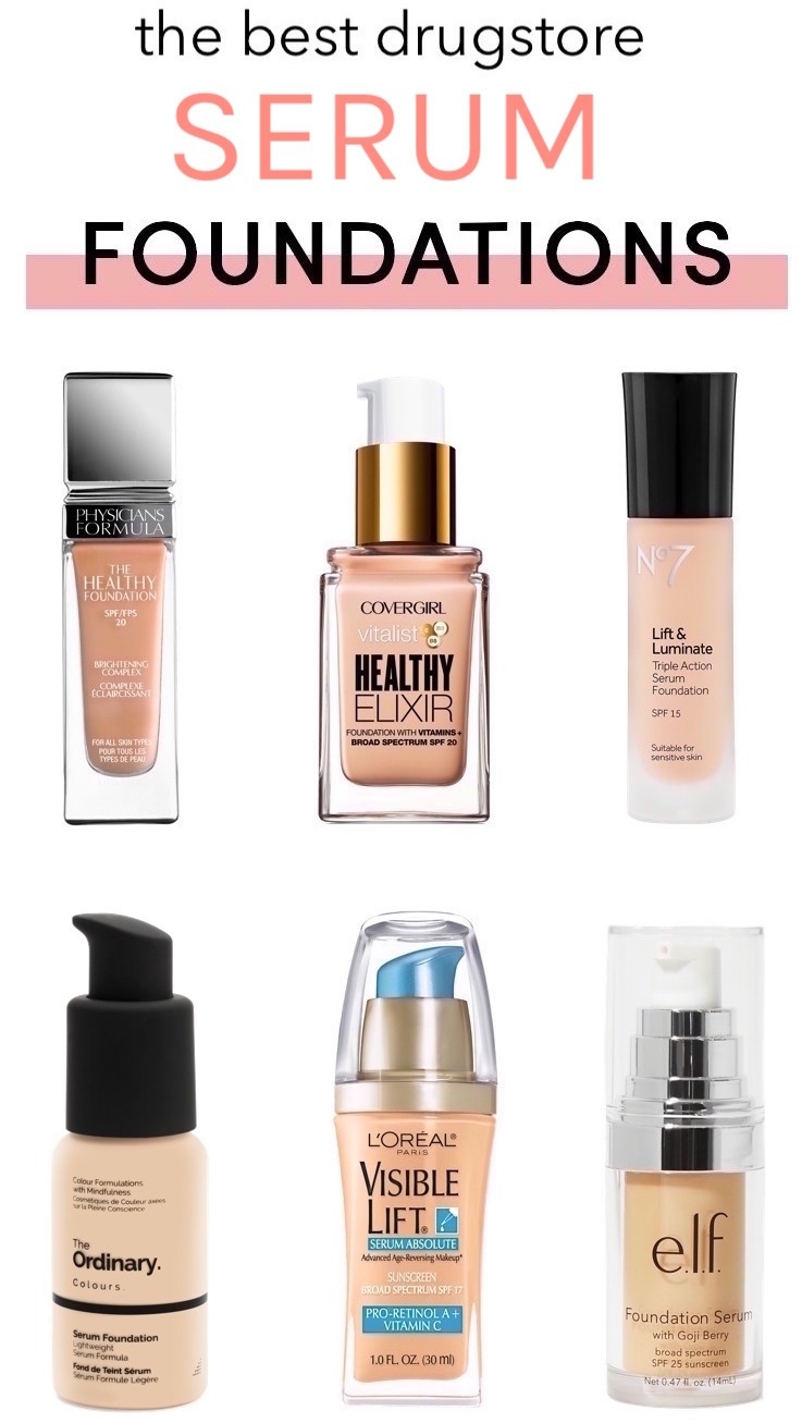 The Best Drugstore Serum Foundations With Serious Skincare Benefits