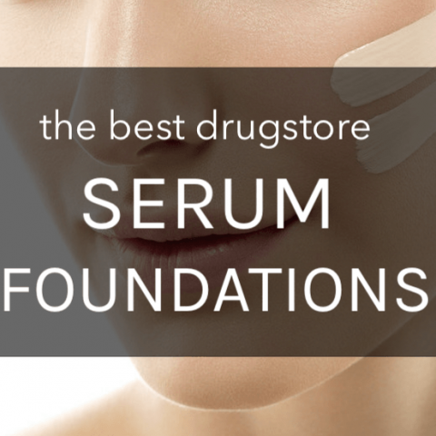 best drugstore serum foundations