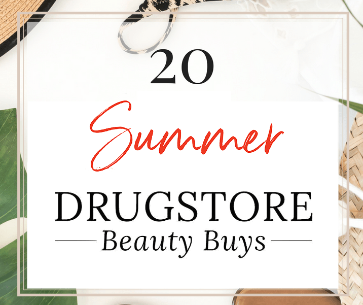 Best drugstore beauty products for summer | These must-have makeup and skincare steals (all under $20) are perfect for an easy-breezy, effortless summer beauty routine! #drugstoremakeup #drugstoreskincare