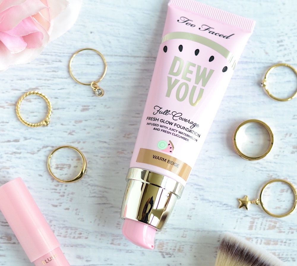 Too faced dew you foundation review