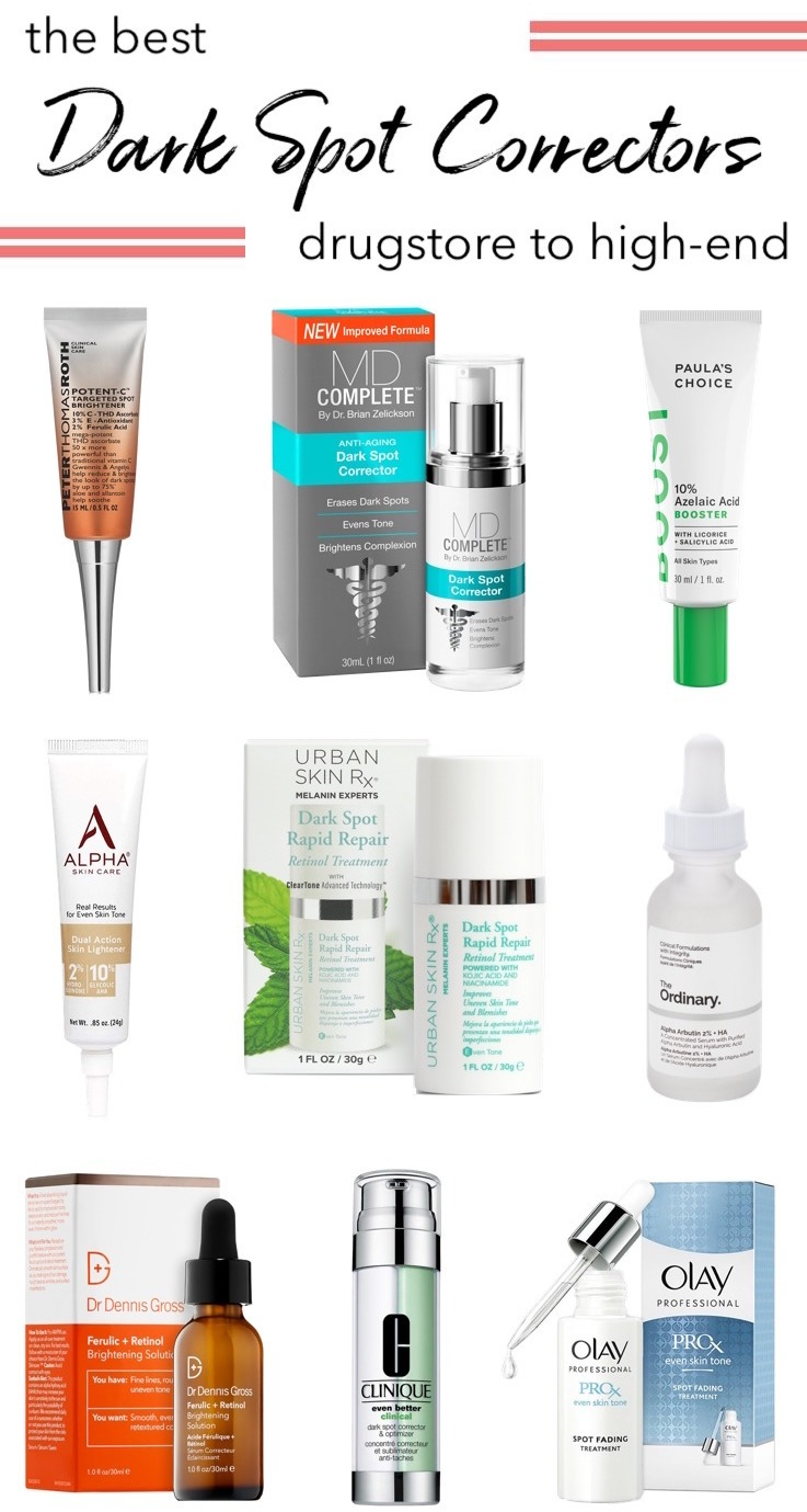 The Best Dark Spot Correctors: Drugstore to High-End | Best brightening serums for acne scars and dark spots