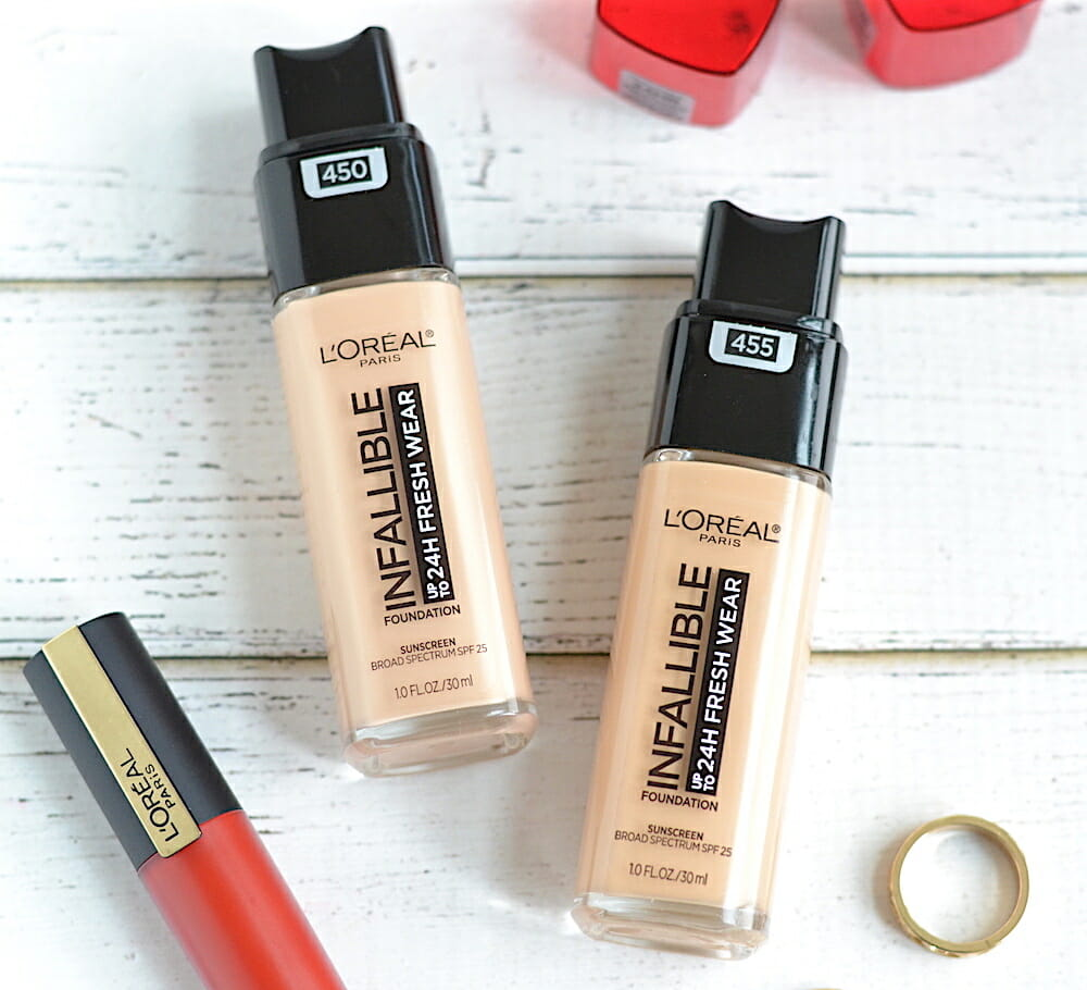 L'Oreal Fresh Wear Foundation Review and Swatches