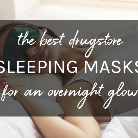 best drugstore sleeping masks