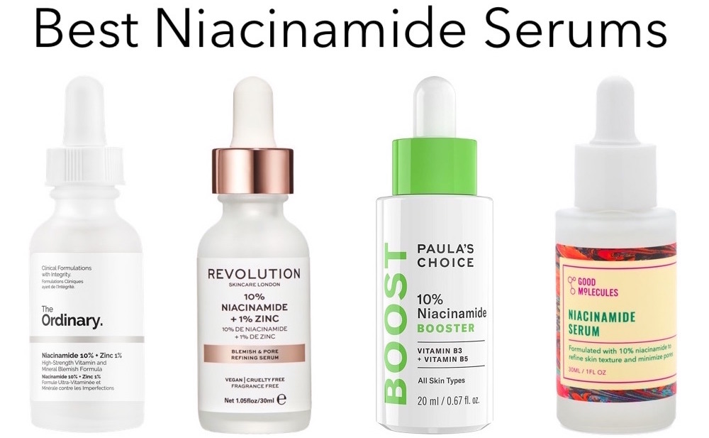 Best Niacinamide serums to minimize large pores