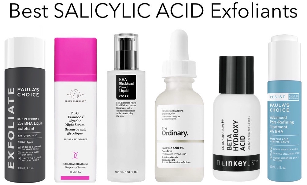 Best salicylic acid exfoliants to reduce large pores
