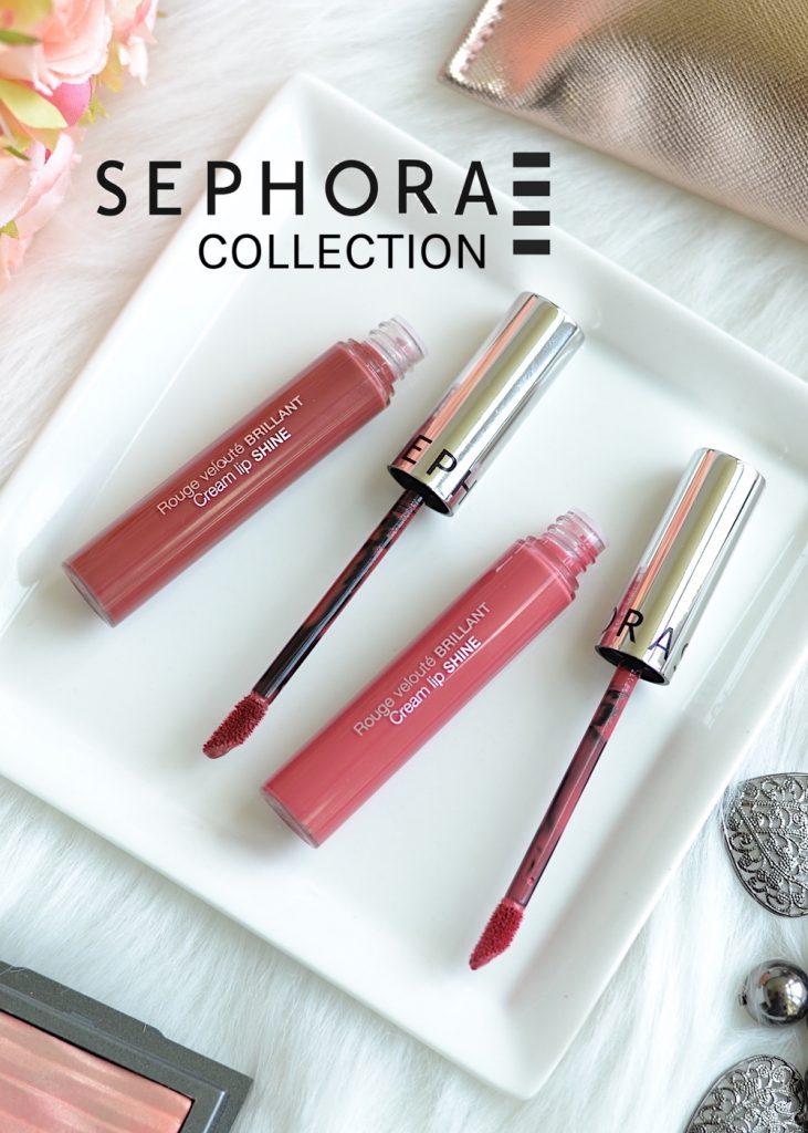 Sephora Cream Lip Shine review and swatches