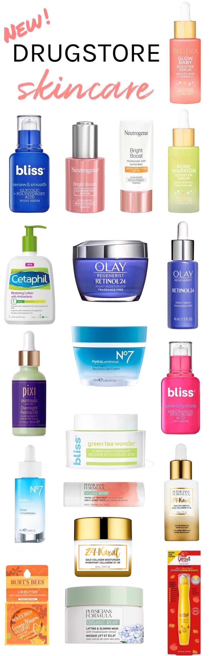 New Drugstore Skincare Fall 2019