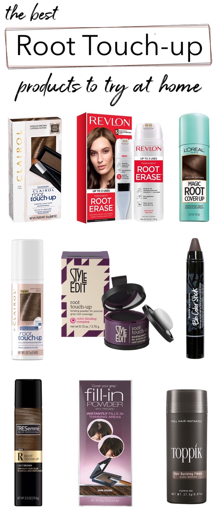 Best Root Touch-Up Products For Gray Hair