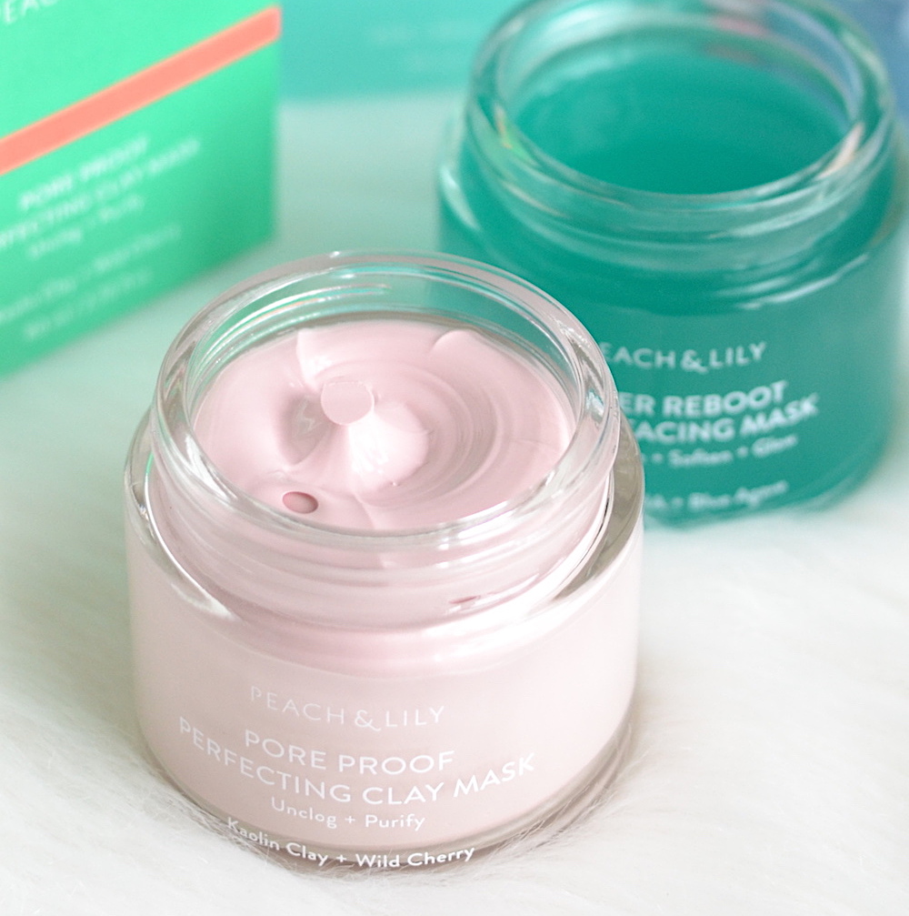 Peach and Lily Pore Proof Perfecting Clay Mask