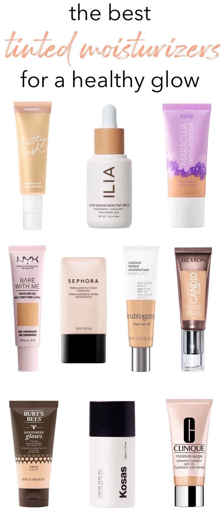 Best tinted moisturizers for a healthy glow with hydration