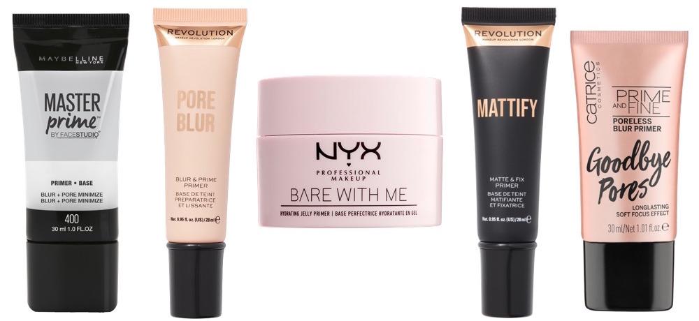Best Drugstore Primers For Acne-prone Skin