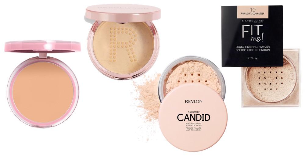 Best Drugstore Setting Powders For Acne-prone Skin