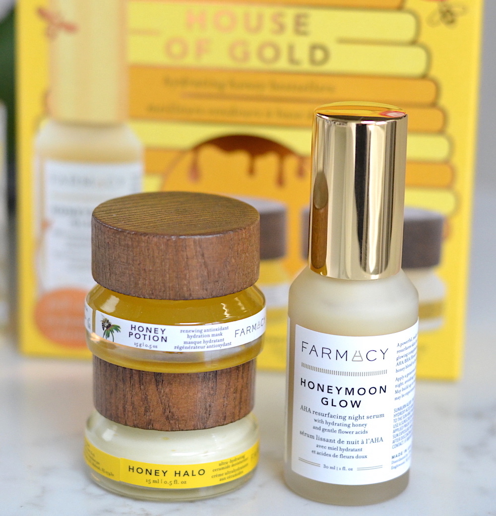 Farmacy House of Gold Skincare Set holiday 2020