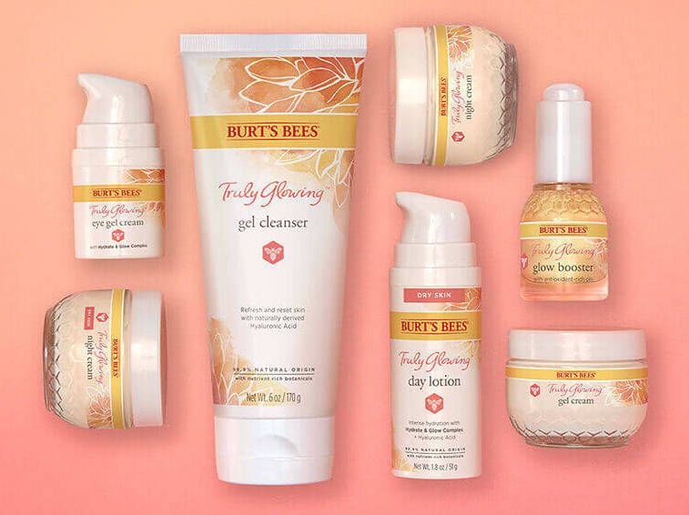 Burts Bees Truly Glowing Skincare