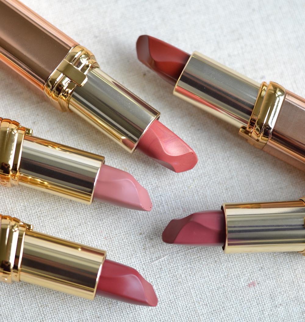 L'Oreal Les Nus lipsticks review