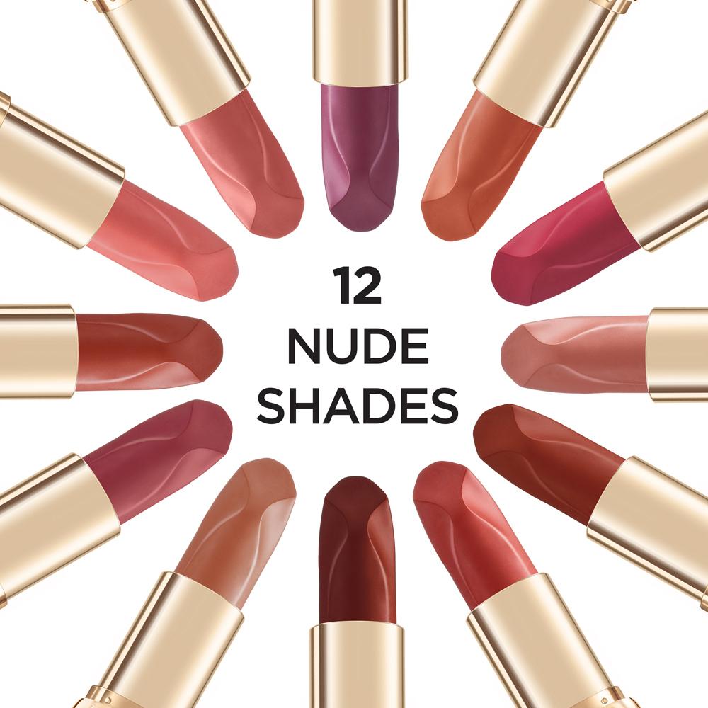 L'Oreal Les Nus Lipstick Collection