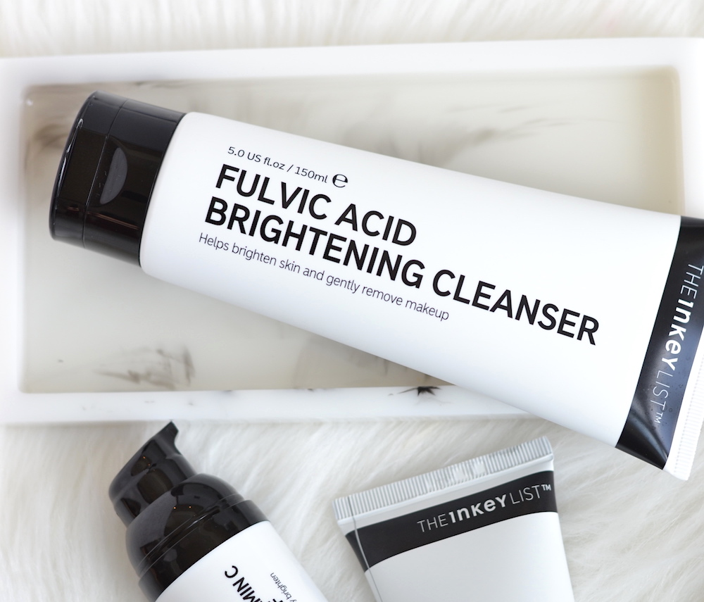 Inkey List Fulvic Acid Brightening Cleanser review
