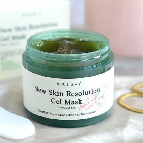 AXIS-Y New Skin Resolution Gel Mask