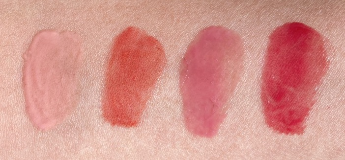 Burts Bees Squeezy Tinted Balm swatches